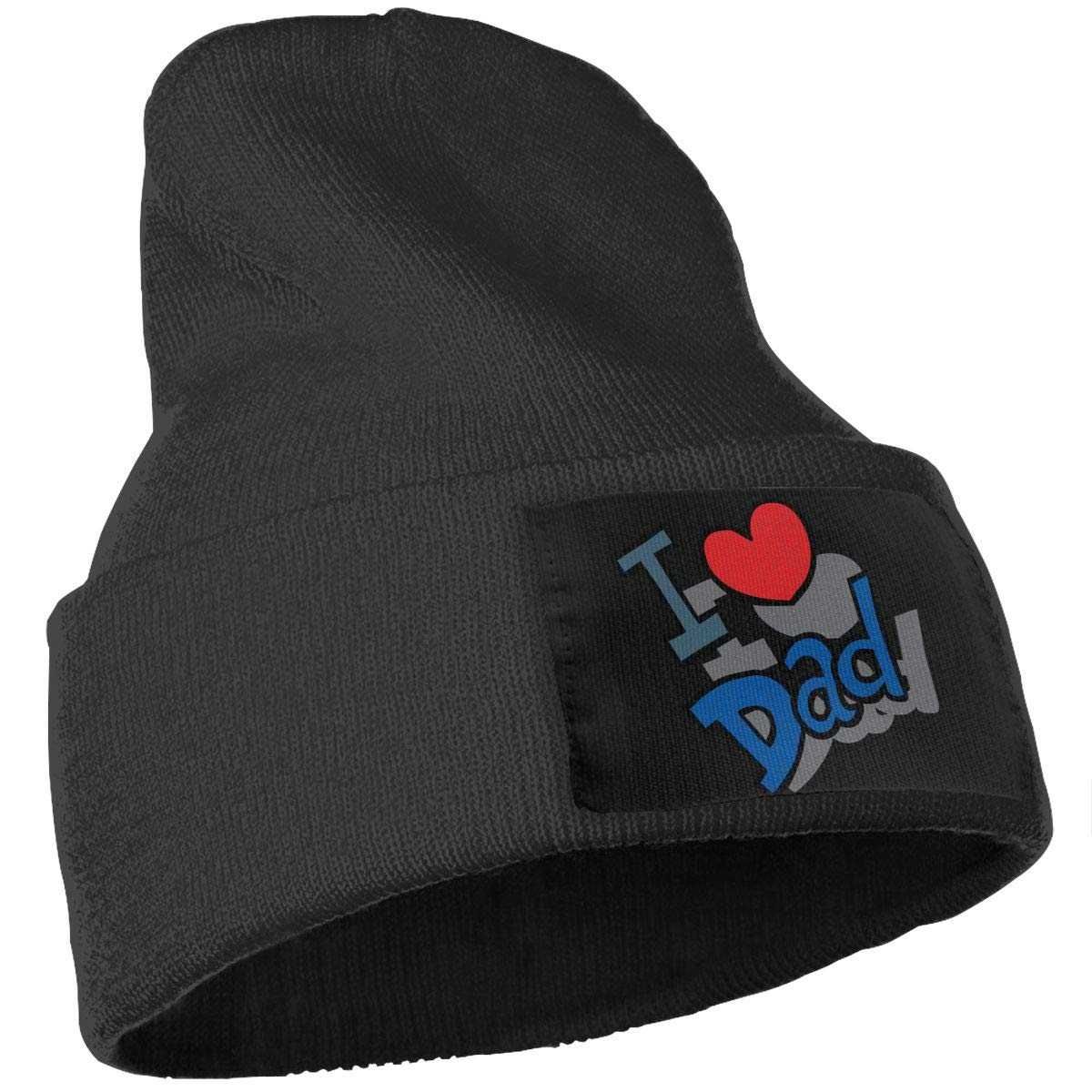 I Love My Father Warm Winter Hat Knit Beanie Skull Cap Cuff Beanie Hat Winter Hats for Men /& Women