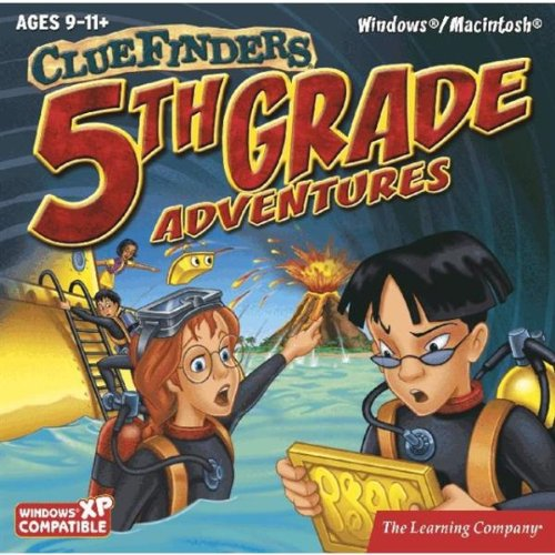 Clue Finders 5TH Grade Adventures Learning CD Case Pack 24
