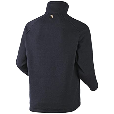 Harkila Mens Nite Pullover Warm Fleece Dark Navy Lightweight
