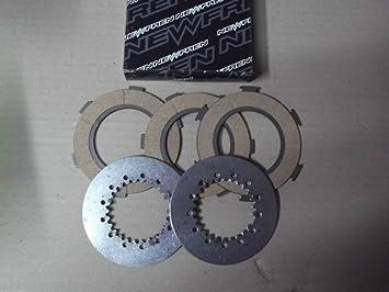Serie discos embrague 5 discos para Piaggio Vespa 160 GS-125 PX Arc 81 - 89: Amazon.es: Coche y moto