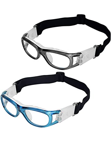 460d80b4f4 Elemart(TM) 2 PCS Kids Sport Glasses - Adjustable Anti-fog Protective  Children