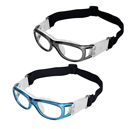 2af968e6d2 Elemart(TM) 2 PCS Kids Sport Glasses - Adjustable Anti-fog Protective  Children