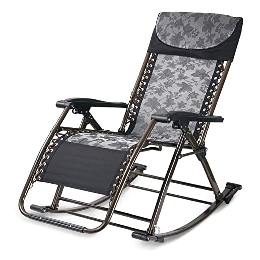 Silla reclinable Plegable Silla Mecedora Mecedora Mecedora Silla ...