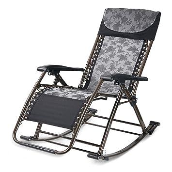 Silla reclinable Plegable Silla Mecedora Mecedora Mecedora ...