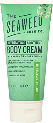 Seaweed Bath Co, Body Cream Eucalyptus Peppermint, 6 Fl Oz