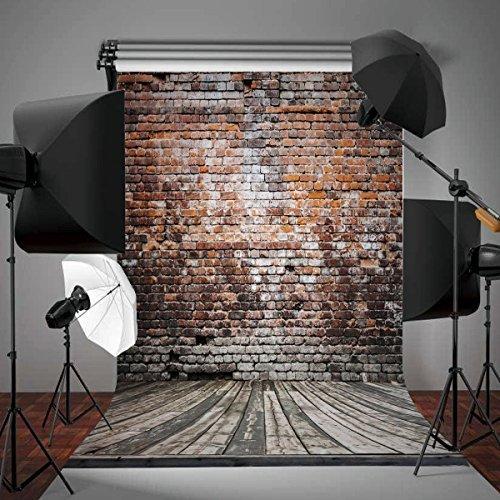 65 Ft5 Ft 200 Cm150 Cm Hot Sales Simple Wedding Photography Backdrops Broken Wooden Bricks Wall Background Digital Print Backdrop Photo Studio GK 0009