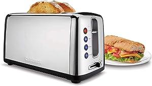 Cuisinart CPT-2400P1 The Bakery Artisan Bread Toaster, 2-Slice, Stainless Steel
