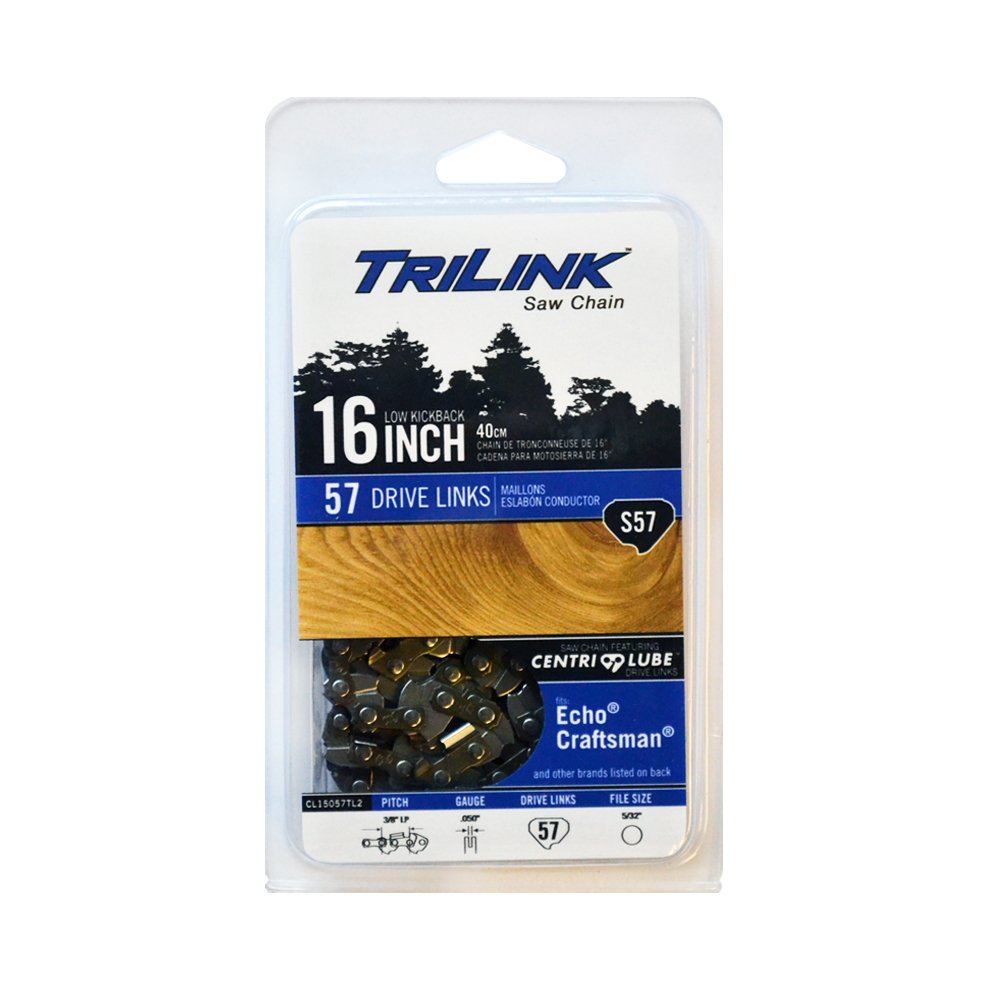 Trilink Saw Chain CL15057TL2 CP 5 S57 CL 16 Chain