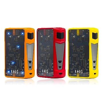 bb4b2bbf136a29 Sigelei Kaos Z 200W Box Mod (Yellow, Red, Orange, Black) (Black):  Amazon.co.uk: Health & Personal Care
