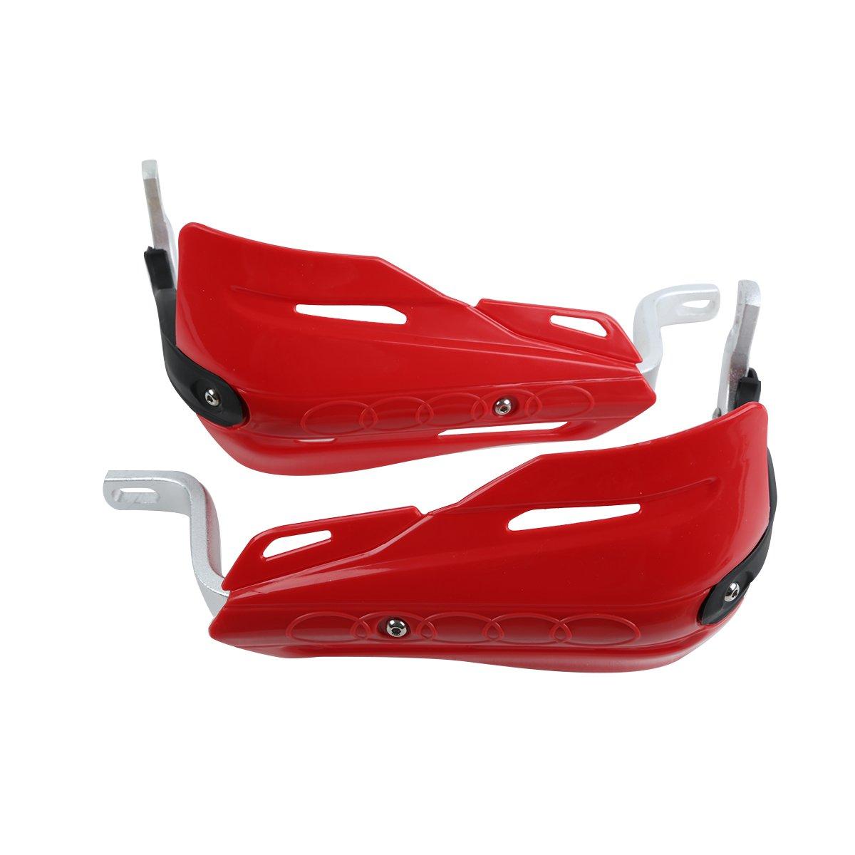 Dirt bikes,MX bikes and ATVs. XMT-MOTO 7//8 Handguards Hand Guards For Honda Yamaha Kawasaki Suzuki