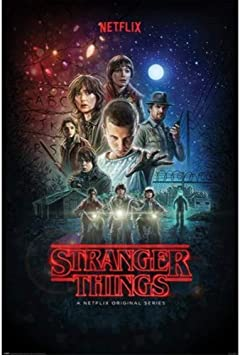 Stranger Things Póster, sin laminar, Multicolor, 61 x 91.5cm: Amazon.es: Hogar