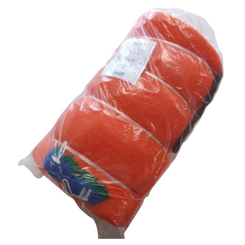 東京戸張 PE防鳥網 20mm角 18.0m×27.0m [オレンジ色/400D] G150 500512 B00OJRCO72