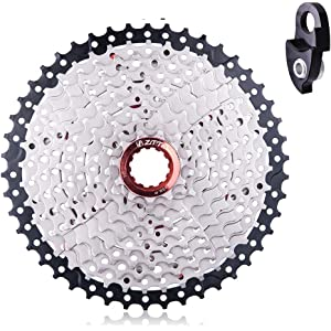 Cassettes, Freewheels & Cogs Sunrace Csmz90 11-50t 12 Speed Wide Ratio Mountain Bike Mtb Cassette Silver New Reliable Performance Cycling