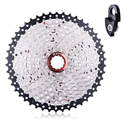 Cassettes, Freewheels & Cogs Sunrace Cs-ms 10-speed---11-36t Mtb--road Silver Bicycle Cassette Sporting Goods