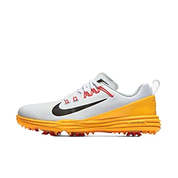 Nike Lunar Command 2017 Golf Zapatos Mujer Blanco/Naranja, EU 38 1/2: Amazon.es: Deportes y aire libre