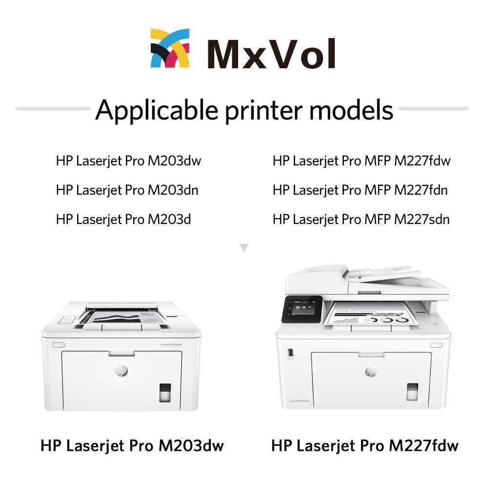 Amazon.com: MxVol - Cartucho de tóner compatible HP 30X 30A ...