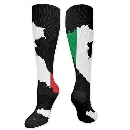 414550ae02 Amazon.com: Mnsuh9 Italia Italy Italian Map Compression Socks for Women &  Men - Compression Stockings for Travel, Running, Pregnancy, Nurse: Sports &  ...