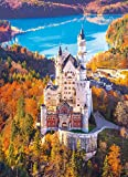 Neuschwanstein Castle Jigsaw Puzzle, 1000 Pieces, Made in Italy