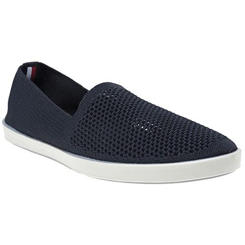 58340b52efbc Tommy Hilfiger Easy Summer Mesh Slip On Trainers Blue  Amazon.co.uk  Shoes    Bags