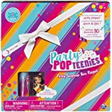 Party Popteenies - Rainbow Unicorn Party Surprise Box Playset Confetti, Exclusive Collectible Mini Doll Accessories Ages 4 up