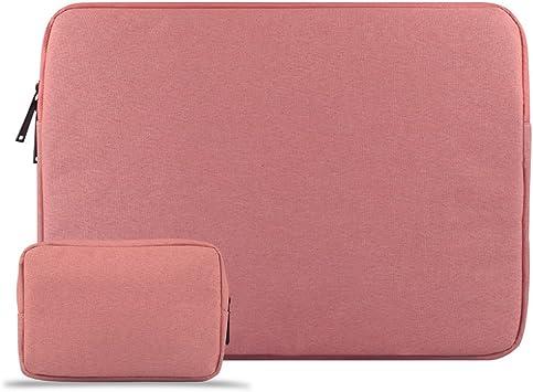 CLOUDSTOO Funda Protectora para 11-11.6 Pulgadas MacBook Air/Portátiles/Ultrabook Netbook Tablet, Impermeable Ordenador Portátil Funda, Laptop Manga Bolsa con Un Pequeño Caso, Rosa: Amazon.es: Electrónica