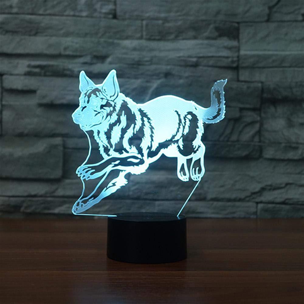 21b32f94eb Bbdeng 3D Ambiente De Luz Nocturna Luz Led Led Led De Colores Cambiantes  Lámparas De Ilusión óptica ...
