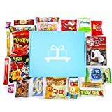 Akibento Deluxe Asian Snack Box (22 Count) | Variety Assortment of Japanese Candy, Korean Snacks and More! | College Care Package | Gift Care Package