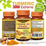 Product review for Extreme Turmeric Curcumin 3000 mg Daily - Joint Pain Relief Anti-Inflammatory, Antioxidant Supplement. Best 100% All Natural Non-Gmo Vegetable Capsules