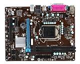 MSI Intel H61 LGA 1155 DDR3 USB 2.0 Micro ATX Motherboard (H61M-P32/W8)