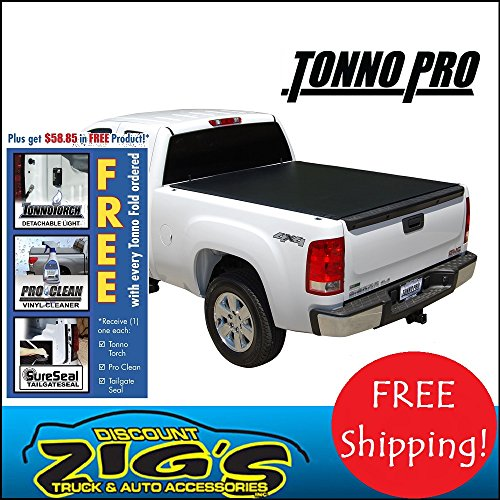 Tonno Pro LR-1010 Lo-Roll Black Roll-Up Truck Tonneau Cover