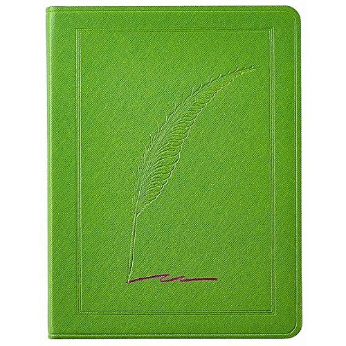 Saffiano-Lime QUILL Eco-leather 9in Large Journal by Graphic Image™ - 7x9 by Graphic Image