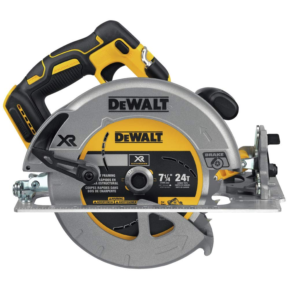 Dewalt DCS570BR 20V MAX 7-1/4 in. CORDLESS CIRCULAR SAW – TOOL ONLY (Certified Refurbished)