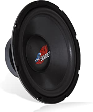 High-Powered Free Air Subwoofer - Impressive Bass Response, Low-Resonance Frequency Output, and Power Handling: 300 Watt PEAK / 150 Watt RMS with Car Subwoofer Size: 12.0'' -inch - Lanzar DCTOA124