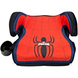 KidsEmbrace Spider-Man Booster Car Seat, Marvel Youth Backless Seat, Red, 4801SPD