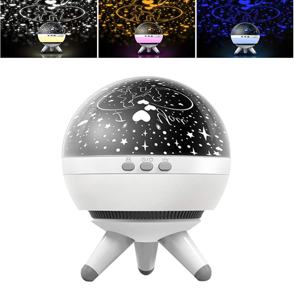 Etoiles Luminaire Lampe Ciel Decoration NuitRotation Lamp Coopay Projecteur Veilleuse Chevet Projection Led Maison Bébé Enfant De xedWrBoC