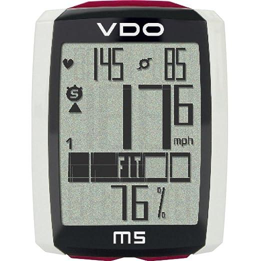 115 opinioni per VDO Ciclocomputer M5 Wireless con Sensore di Velocità