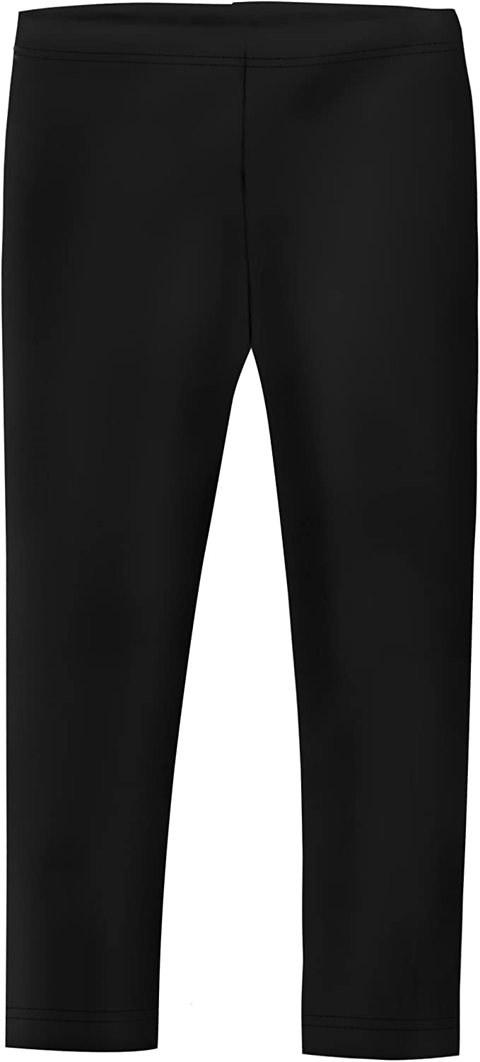 Amazon Com City Threads Girls Leggings In 100 Cotton For School Uniform Or Play Made In Usa Clothing