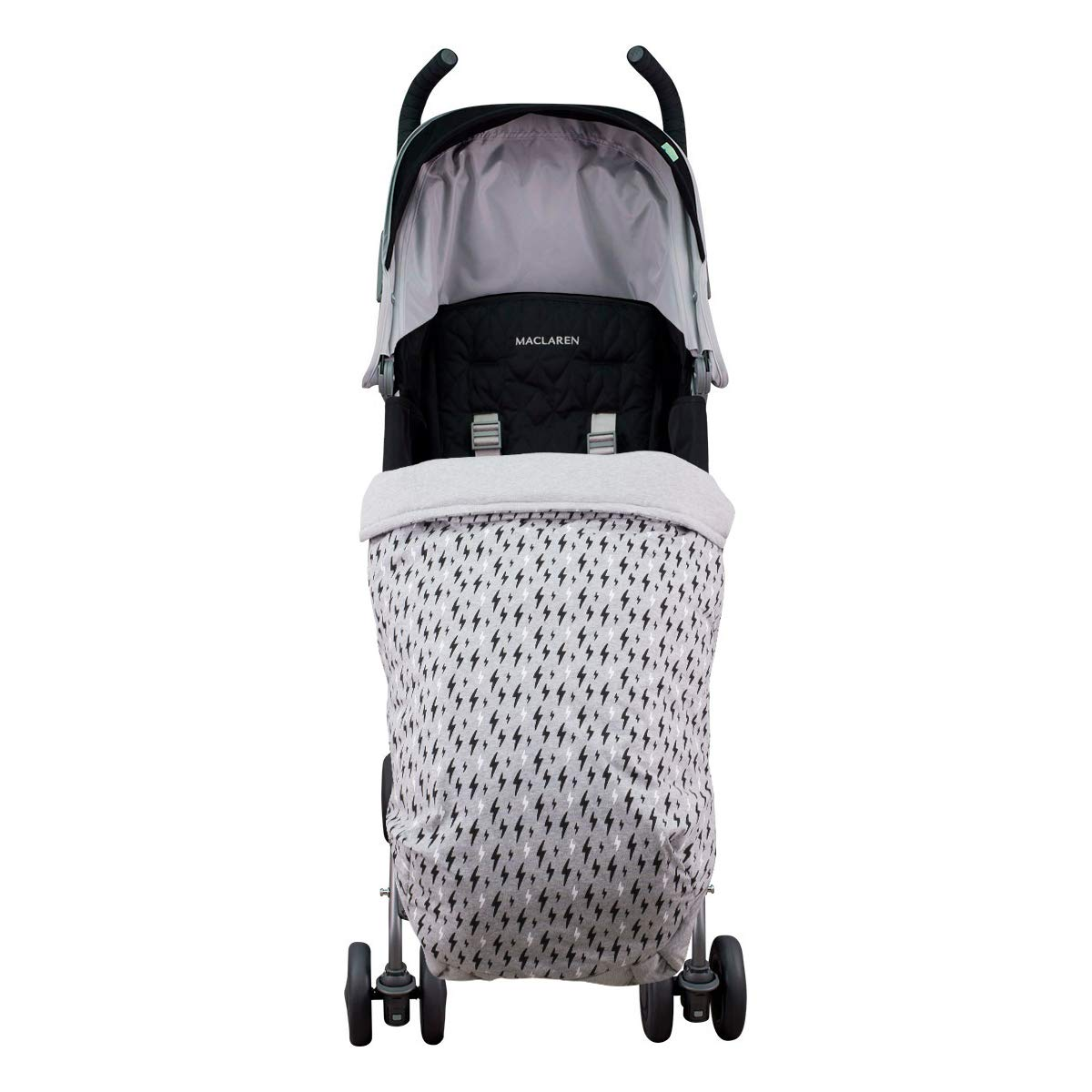 JANABEBE Manta saco cubre pies bebé universal Impermeabilizado (BLACK RAYO, ALGODÓN): Amazon.es: Bebé