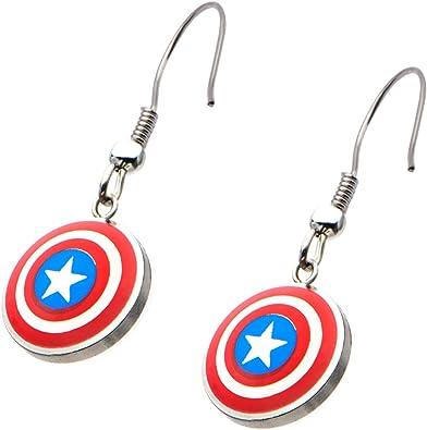 boucle d'oreille captain america
