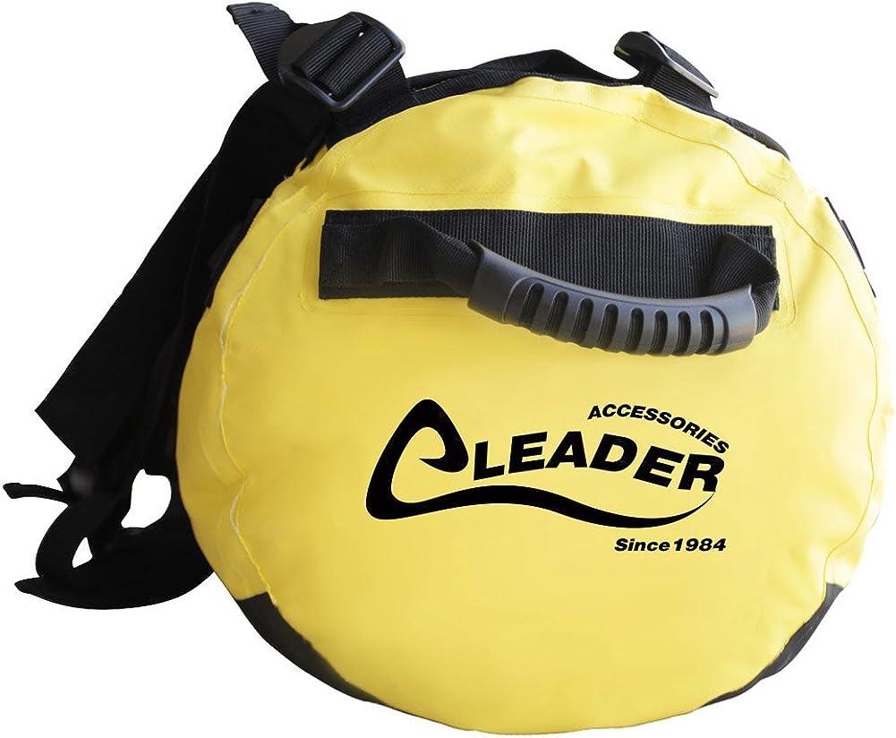 Leader Accessories Deluxe Water Resistant PVC Tarpaulin Duffel Bag Backpack 40L 70L 90L