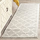 Cheap Safavieh Amherst Collection AMT422B Light Grey and Beige Indoor/Outdoor Area Rug (2'6″ x 4′)