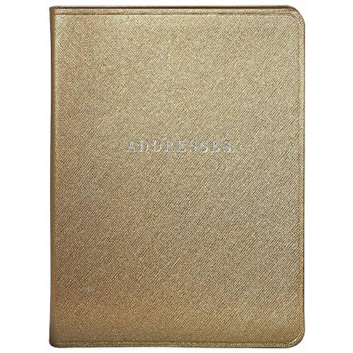 Gold Eco-Leather Address Book by Graphic ImageTM -