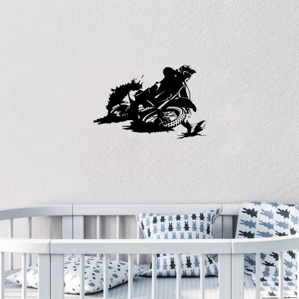 pegatinas para niños Etiqueta engomada hermosa del coche de la etiqueta engomada del casco del desgaste de la motocicleta del montar a caballo del muchacho para el camión