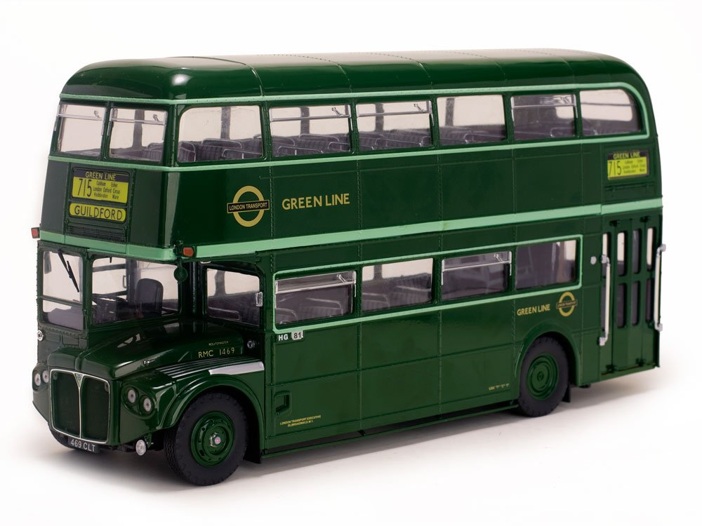 1958 Routemaster Double Decker Bus RMC1469 - 469CLT The Lock Tavern Green Limited Edition to 2750pcs 1/24 by Sunstar 2912
