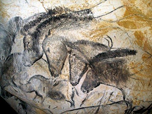 Horses: Cave Art : Art Print