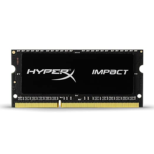 585 opinioni per HyperX Impact HX316LS9IB/8 memoria 8GB 1600MHz DDR3L CL9 SODIMM 1.35V