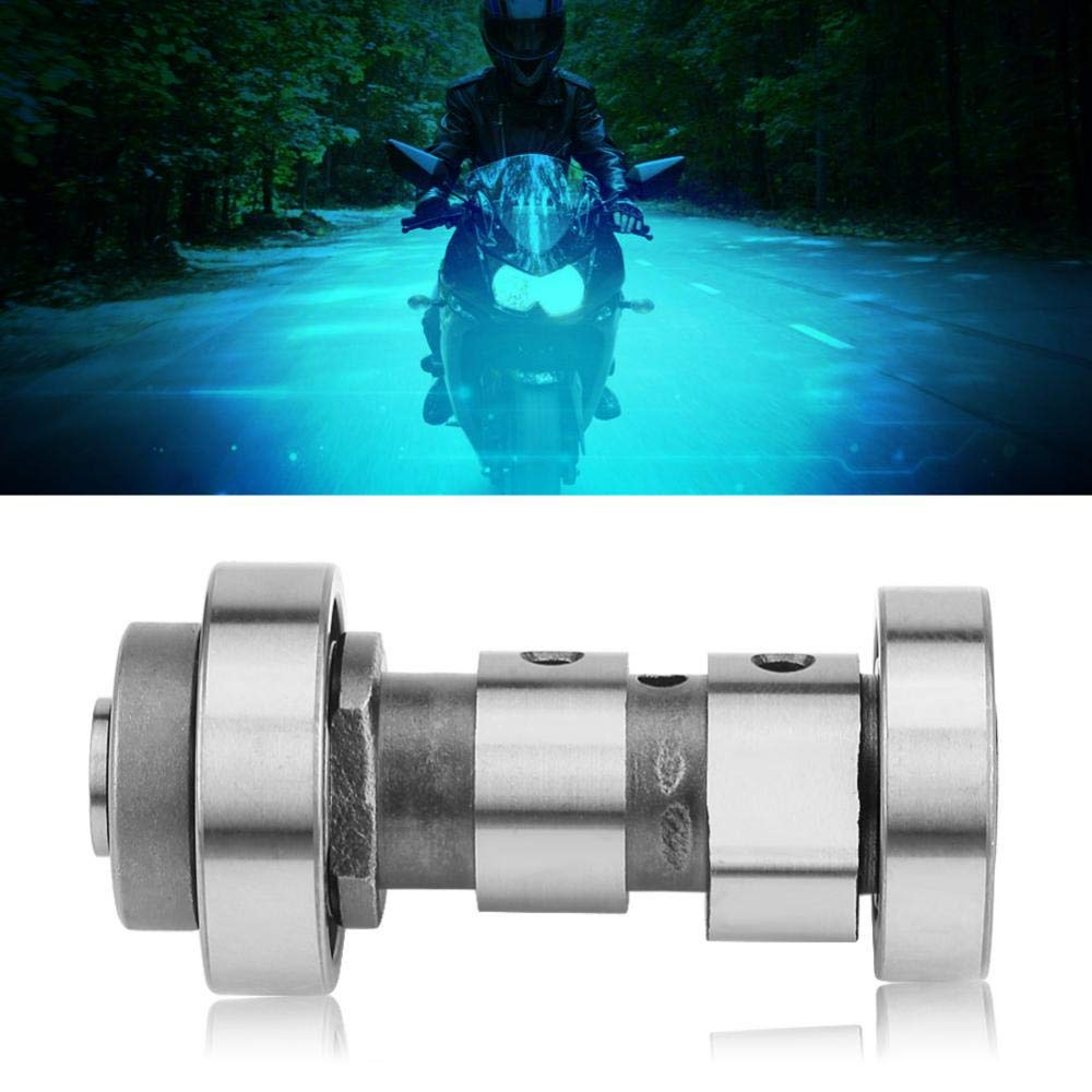 Ejoyous Motorcycle Camshaft,Engine Accessories Camshaft for Yamaha YBR 125 YBZ 125 XTZ 125,Silver