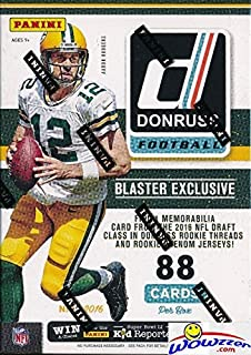 Amazon 2017 panini contenders nfl football draft picks 2016 donruss nfl football exclusive factory sealed retail box with rookie memorabilia card plus rc bookmarktalkfo Image collections