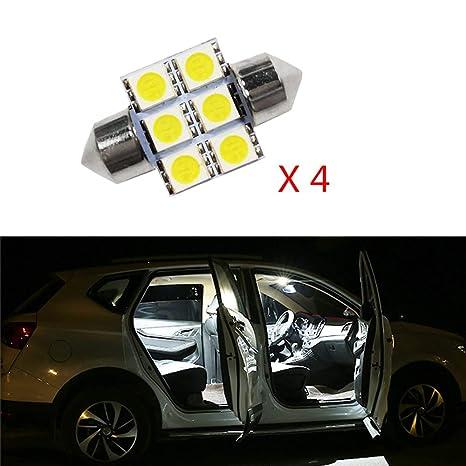 Cobear para CRV 2007-2009 Super Brillante Fuente de luz LED Interior Lámpara de Coche