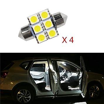 Cobear para 3 Axela Super Brillante Fuente de luz LED Interior Lámpara de Coche Bombillas de